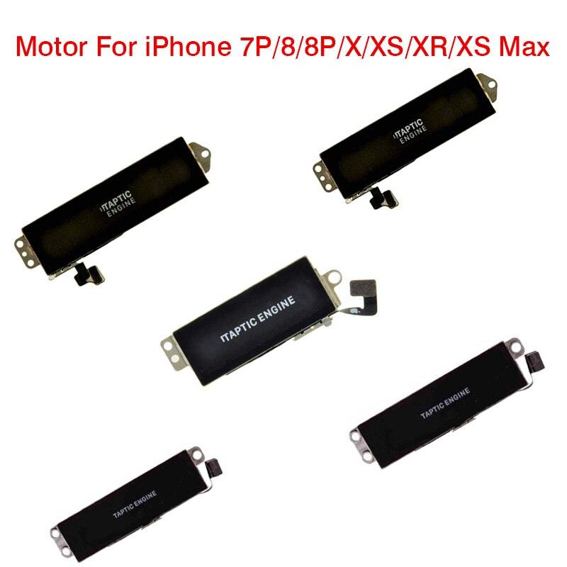 Vibrator Motor Module For IPhone XS Max XR X 8 8G 8Plus 7Plus Vibration Flex Cable Phone Replacement Part Original