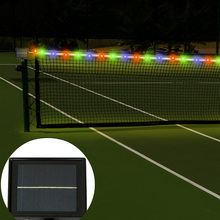 RGB 2835 Solar LED Light Strip Tennis Light Strip Outdoor Bright Waterproof Light Strip Lawn Light Strip for Christmas Decoratio