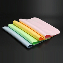 1Pcs High quality Chamois Glasses Cleaner Microfiber Glasses Cleaning Cloth For Lens Phone Screen Cleaning Wipes Color Random