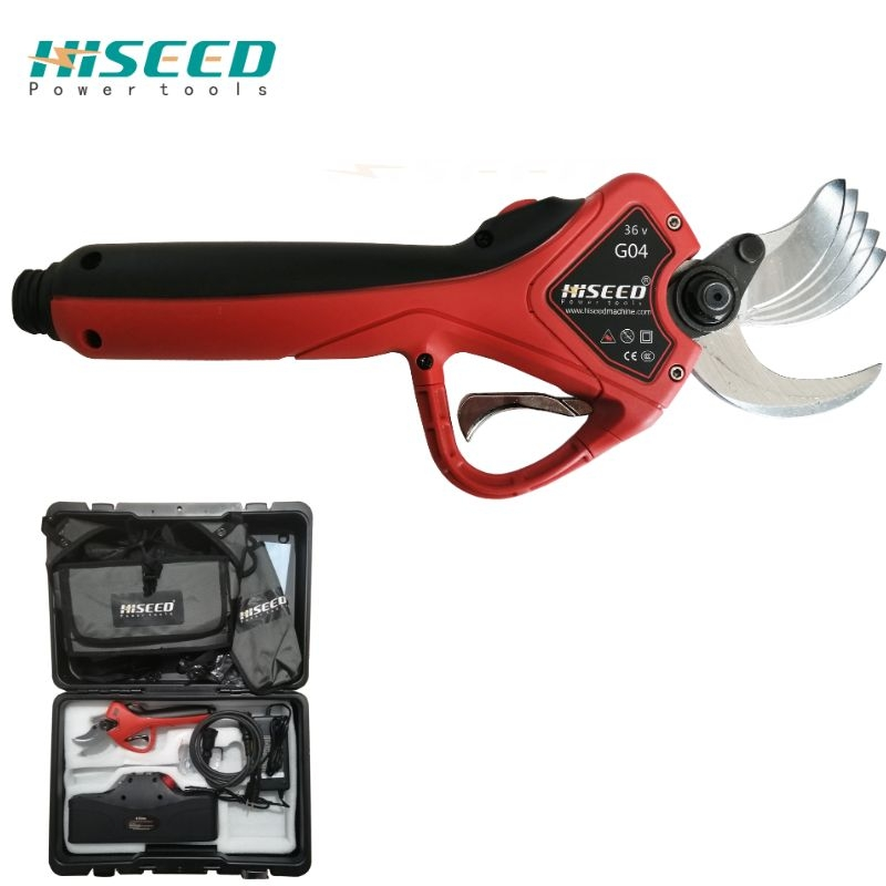 HISEED New 43.2V Li-ion Battery 100kg Shearing Force Farming Usage Electric Pruning Shears