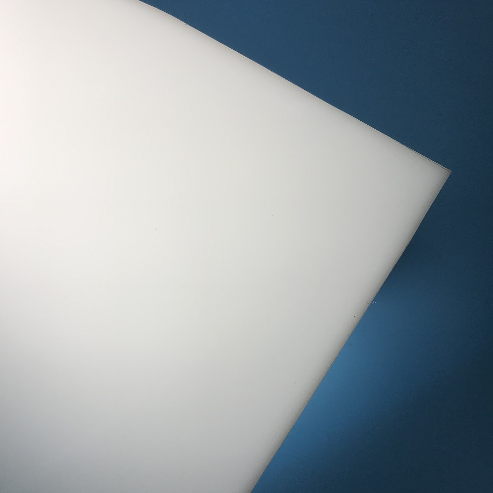2mm opal white acrylic plastic sheet pmma panel for signs