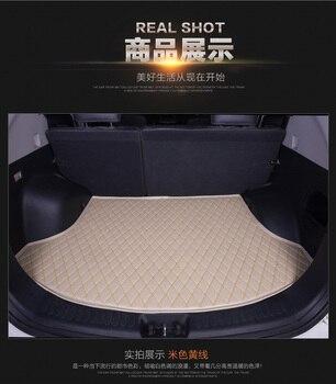 Waterproof Leather No Odor Car Trunk Mats for A6L A4L Audi A3 Q3 Q5