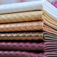 Meetee 50x137cm Faux PU Soft Leather Fabric 8mm Thick Artificial Leather for Sewing Sofa Bag Bed Car Decoration Leather Material