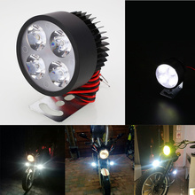 12V-90V LED Motorbike E-bike Headlamp Super Bright Light Waterproof Bulb car styling  Motorcycle Headlight itimo 40w each bulb headlamp all in one version of x7 led headlight super bright car styling h11