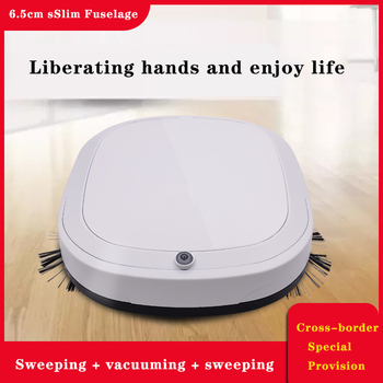 Automatic Robot Intelligent Anti Falling Sweeping Mop Three In One Mini Sweeper Robot Kitchen Appliances  Comercial Cleaning