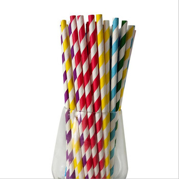 Birthday Decoration Valentines 25pcs Straw Drinking Paper Straws Bachelor Party Children Birthday Party Supplies image