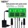 Yieryi 4 in 1 PH TEMP EC RH Wasser Qualität Tester Monitor PH Meter Multi parameter Aquarium Wasser Meter-in PH-Meter aus Werkzeug bei