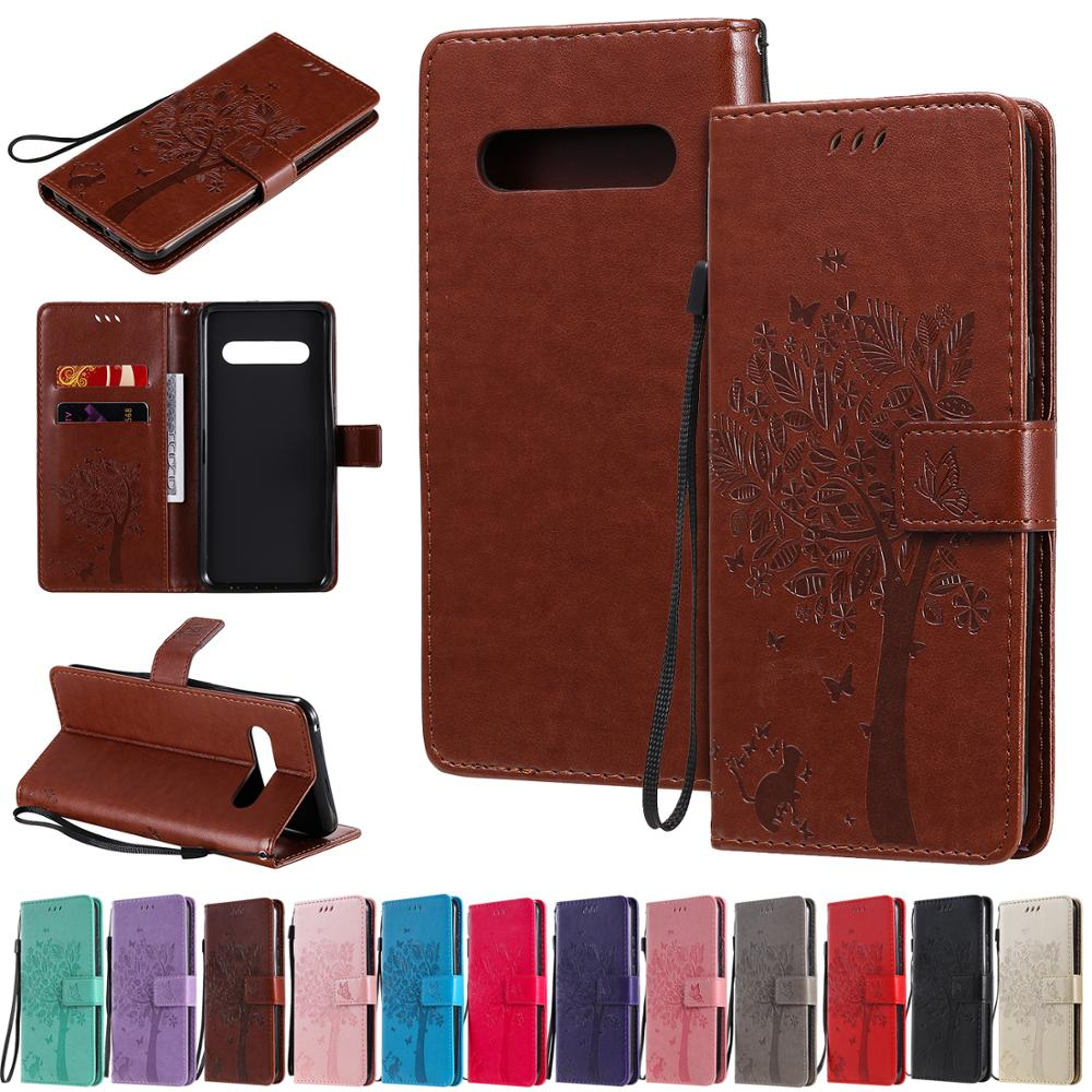 Leather Flip Wallet Case For LG V40 V50 V60 k20 k30 K8 k10 G8X w30 K50 Q60 Stylo5 K4 <font><b>k12Plus</b></font> G8TinQ STylo4 Xpower23 Cover image