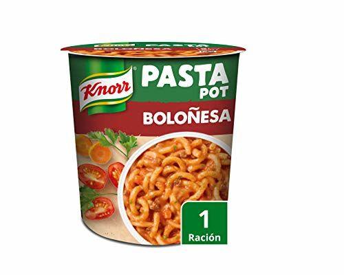 Knorr - Pasta Pot Boloñesa Sin Colorantes - 68 G