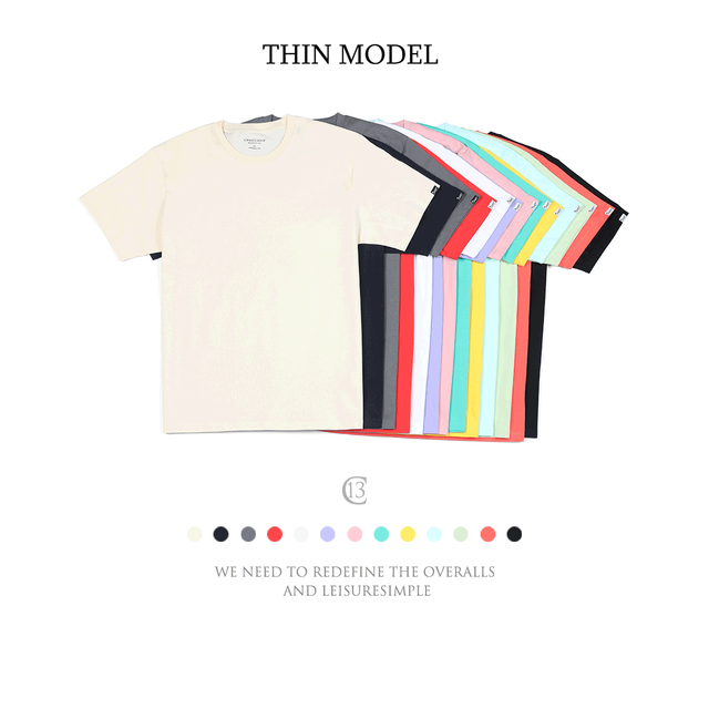 SIMWOOD 2021 Summer New 100% Cotton White Solid T Shirt Men Causal O-neck Basic T-shirt Male High Quality Classical Tops 190449 6