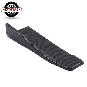 Image 5 - Универсальный угловой разветвитель для задних губ из углеродного волокна, диффузор, спойлер на бампер, крылья крыльев, Модифицированная боковая юбка для автомобильного кузова