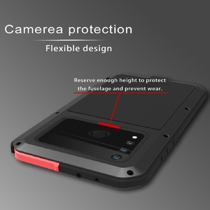 Image 3 - Case For Huawei Nova 4 Cover Full Body Protection Armor ShockProof Defender  Phone Case Metal Heavy Duty Protection Cover Nova 4
