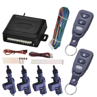 Alarme rápido central da porta  fácil instalação  sem chave  universal  alarme  controle remoto inteligente  anti-roubo  kit de fechadura de carro  prático