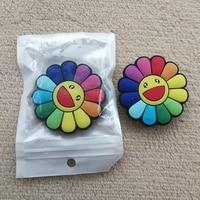 20 piezas Universal de silicona de flor de Margarita de agarre titular de teléfono Margarita girasol agarre soporte para teléfono móvil