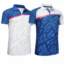 Women/Men sports Table tennis game Shirts clothes Badminton shirt Sportswear Tennis shirt  elastic Qucik dry breathable shirt