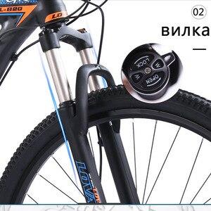 Image 4 - Wolfs fang bicicleta de montanha, freios a disco duplo 27 velocidades 29 Polegada, liga de alumínio para bicicleta mtb bmx de frete grátis