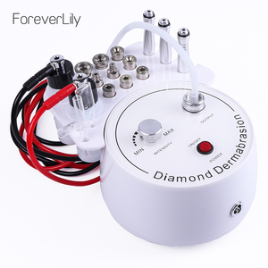 Foreverlily Diamond Microdermabrasion Dermabrasion Machine Water Spray Exfoliation Beauty Machine Wrinkle Face Peeling Machine