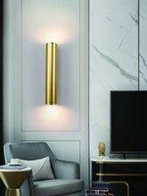 Contemporary creative hotel designer wall lamp LED golden living room bar bedroom