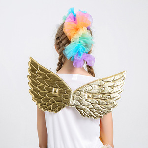 Image 5 - Umorden Movie Unique Deluxe Kids Rainbow Unicorn Costume for Girls Halloween Carnival PartyDress