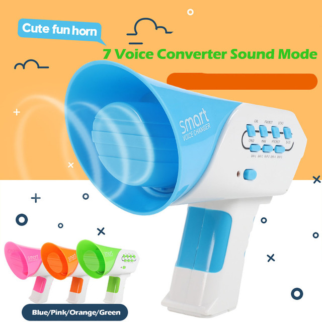 Smart Multi Voice Changer Amplifier 7 Different Voice Modifiers Speaker Toy