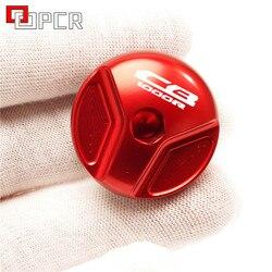For HONDA CB1000 R 2009-2016 2017 2018 2019 2020 CB 1000R CB1000R Motorcycle Parts Oil Filler Cap Engine Oil Drain Plug Cover