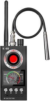 Anti Spy Detector wykrywacz błędów detektor RF ukryta kamera detektory wyszukiwarka kamer do bezprzewodowego wykrywania błędów kamery tanie i dobre opinie Jayzod 1 MHz to 8000 MHz 73 dB 0 03 mV (main band) Built-in 3 7V 100 mA polymer lithium battery a full charge takes 2 5 h