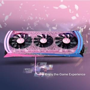 Image 2 - Yeston Radeon RX 5700 XT GPU 8GB GDDR6 256bit 7nm Gaming Desktop del computer PC Video Schede Grafiche supporto DP/HDMI PCI E X 16 3.0