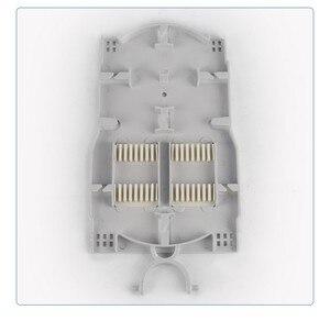 Image 3 - Fiber Optic Enclosure Plastic optical fiber distribution box optic splice joint closure Dome Fiber Optic Spling Closure 5 ports
