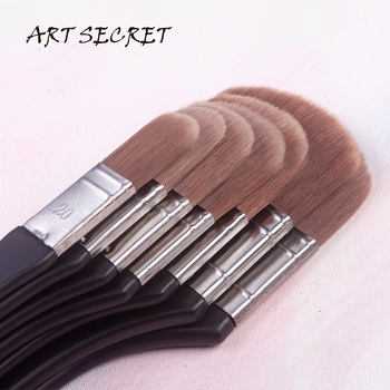 3923 High Quality Korean Synthetic Hair Oil Acrylic Watercolor Art Brush  Free Style Multifuctional Paint Tool Supplies - sale item Art Supplies