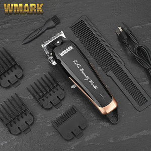 Image 2 - WMARK NG 103plus  Professional cordless Hair clipper 6500 7000 rpm hair trimmer adjustable cutting lever 10W power