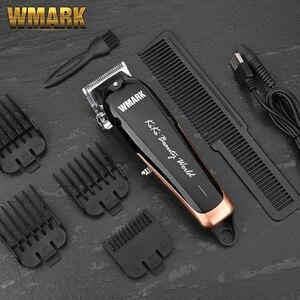 Image 2 - Wmark NG 103plusプロフェッショナルコードレスバリカン6500 7000 rpmヘアートリマー調整可能な切断レバー10ワット電源