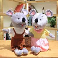 2 teile/los Schöne Plüsch Spielzeug Super Nette Stofftier Cartoon Paar Maus Gefüllte Puppe Geburtstag Weihnachten Geschenk Spielzeug Für Kinder