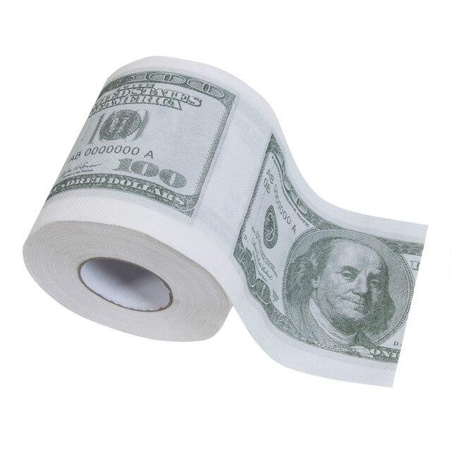 덤프 트럼프 화장지 뜨거운 도널드 트럼프 $100 달러 빌 참신 선물