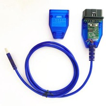 Chip ftdi ft232rl ft232rq para fiat kkl obd2 cabo de diagnóstico do carro automático para vag ecu ferramenta varredor 4 vias interruptor usb interfac