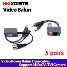 1CH Passieve Video Power RJ45 connectors Balun voor CCTV Camera DVR gratis verzending