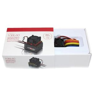 Image 5 - Voor Hobbywing 60A/120A Brushless Esc Rc Auto Sensored Brushless Esc Electric Speed Controller Voor 1/10 1/12 Rc Auto accessoire