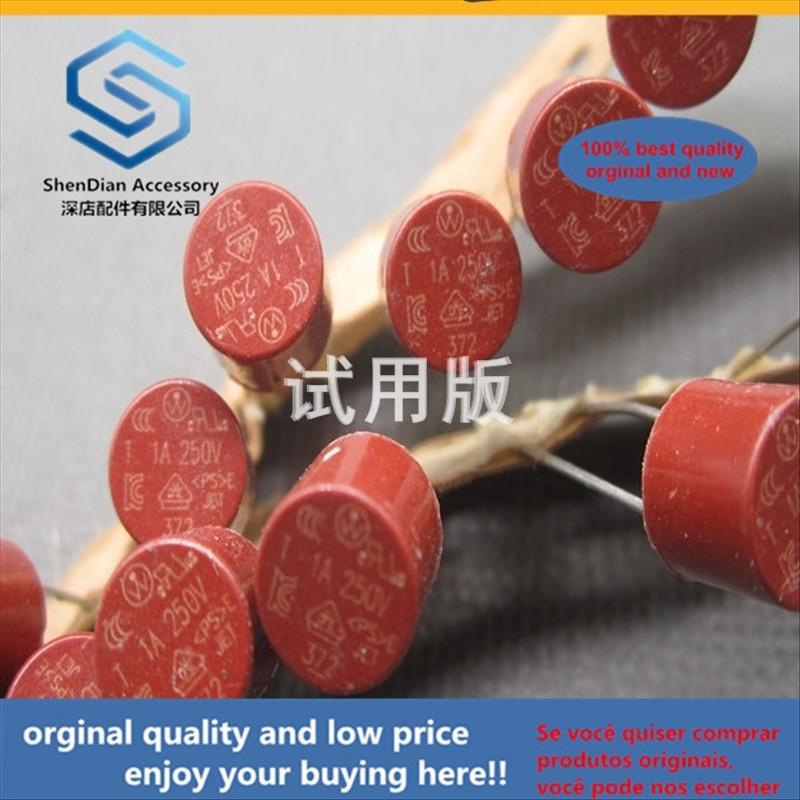 50pcs 100% Orginal New Best Quality Round Fuse Cylindrical Fuse 1A 250V T1A250V