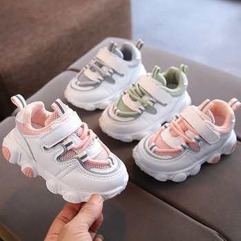 2020 Autumn Baby Girls Boys Casual Shoes Soft Bottom Non-slip Breathable Outdoor Infant Toddler Children Kids Sneakers - discount item  30% OFF Children's Shoes