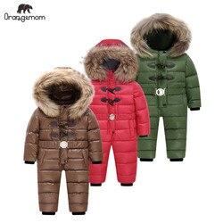 Children's overalls Orangemom, boys and girls, winter park for teen jacket for children