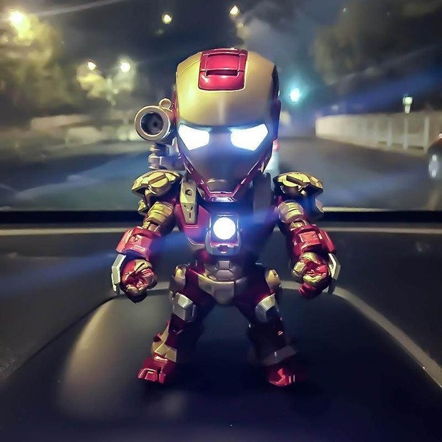Acecorner Home Decoration Car Perfume Iron Man Outlet Perfume Original Auto Perfumes Air Freshener Decor Conditioning Vent Clip 1