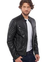 VAINAS ยุโรปยี่ห้อ Mens BUFFALO Premium เสื้อสำหรับชายฤดูหนาวจริงหนังรถจักรยานยนต์แจ็คเก็ต Biker แจ็คเก็ต BRAVO
