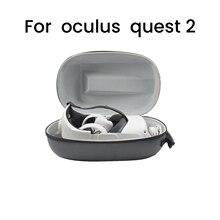 Для Oculus Quest 2 парами очков для хранения к ударам и Водонепроницаемый сумка для хранения Очки виртуальной реальности VR Очки виртуальной и доп...
