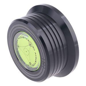 Image 2 - Universal 50Hz LPไวนิลบันทึกแผ่นเสียงStabilizerอลูมิเนียมน้ำหนักClampทดสอบความเร็วฟอง