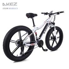 electrical bike 20 inch ebike electrical bicycle snowmobile 36V350W electrical folding bike 4.zero fats tire a motorbike e bike