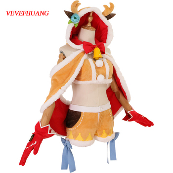 VEVEFHUANG Kосплей Animal Re: Life In Different World From Zero Christmas Tree Elk Lam Rem Cosplay Costume Sexy Halloween Xmas 1