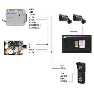 Image 5 - HomeFong Wifi Video Citofono Senza Fili Citofono con Serratura 2 Macchina Fotografica APP di Sblocco a Distanza in Tempo Reale di Controllo di Accesso Sistema di Controllo