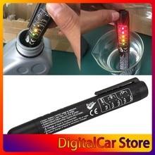 Универсальный автомобильный тестер тормозной жидкости, тестирование тормозной жидкости, качество масла в автомобиле, 5 светодиодный ных ин...