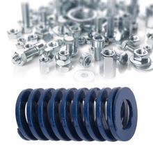 2pcs/set Blue OD 22mm ID 11mm Light Load Mould Die Spring