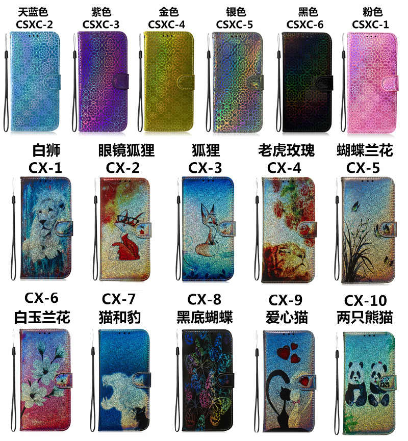 TPU deri Flip samsung kılıfı S8 artı s8 + SM-G955F G955FD cüzdan kapak çanta Galaxy S8 SM-G950F G950FD G950W cep telefonu kılıfı