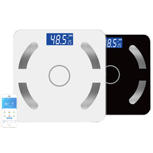 Body Weight Scale Smart Fat Digital Eight Black Color Balance Connect e Bluetooth SE45001